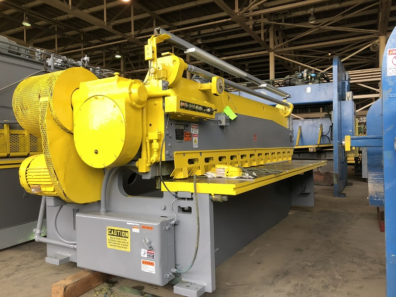 "12' x 3/8"" Lodge & Shipley Mechanical Shear"