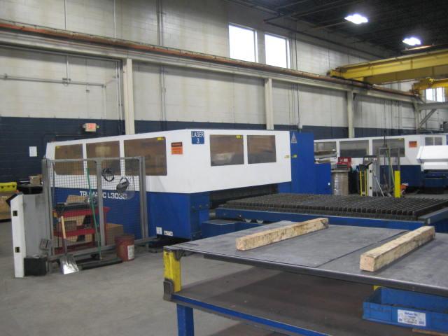 Trumpf L-3030, 4,000 Watt C02 CNC Laser