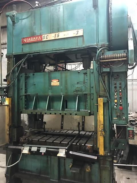 150-Ton Niagara SSDC SC2-150-60-36