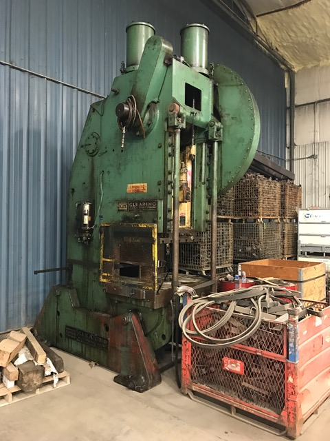 150-Ton USI Clearing OBI Press