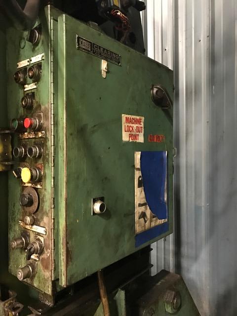 150-Ton USI Clearing OBI Press