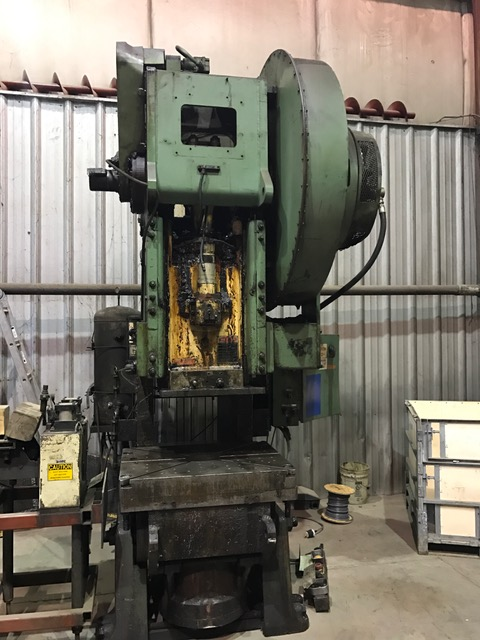 110-Ton USI CLEARING OBI PRESS, MODEL 110-P-701