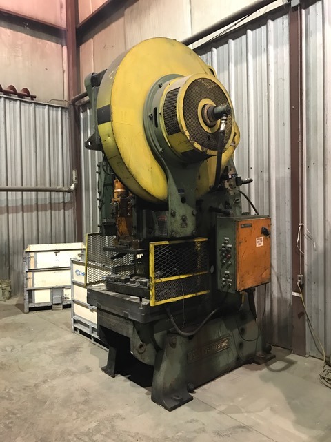 90-Ton USI Clearing OBI Press, Model: P-701