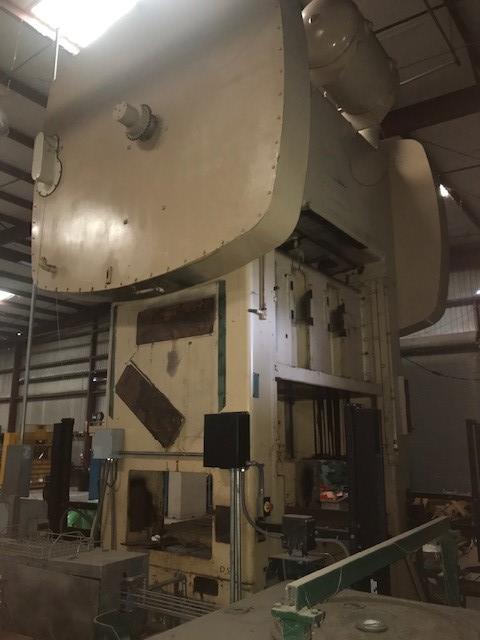 400 Ton Bliss SC2-400-72-48 Straight Side Press