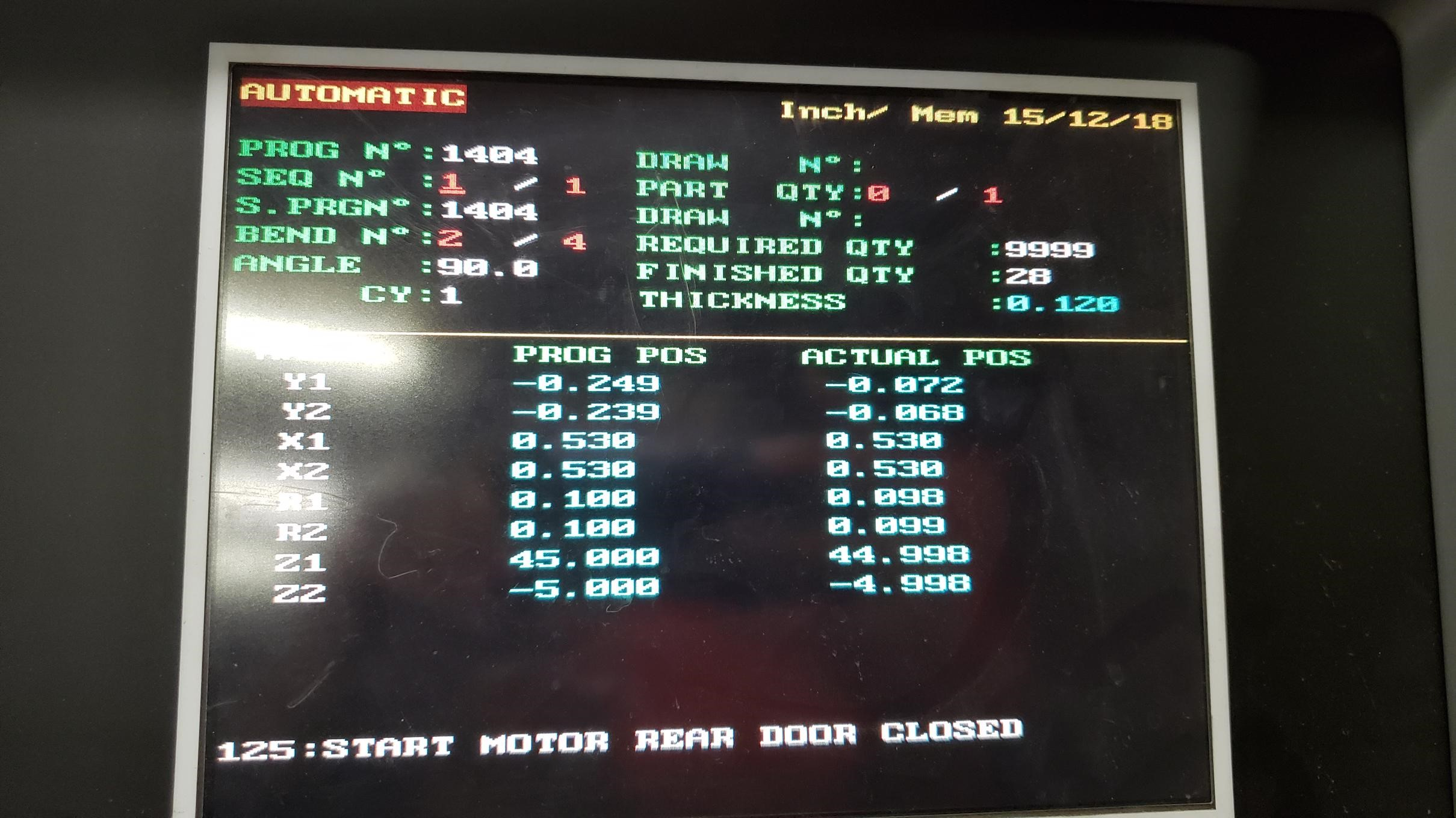 187 Ton x 10' Amada HFE 170-3S Hydraulic CNC Press Brake