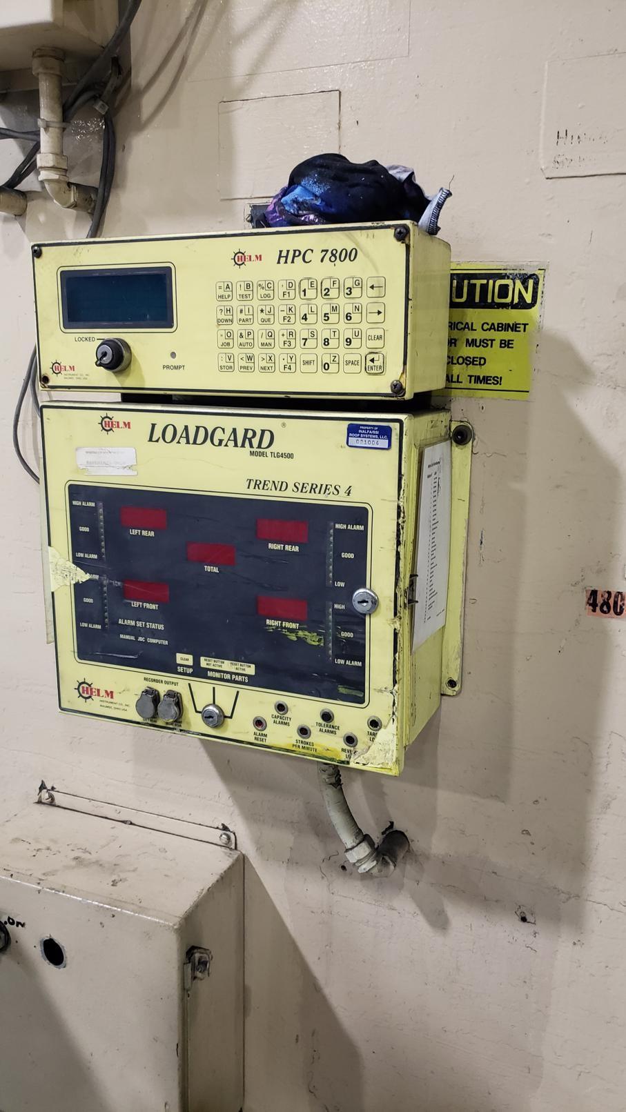 250 Ton Danly S2-250-84-48 SSDC Press