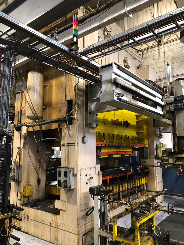 660 Ton Heim S2-660-120-66 SSDC Press