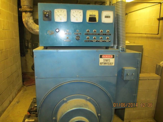 Consolidated Power 406 KVA Detroit Diesel Generator