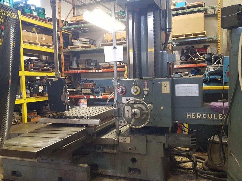 "4.1"" Sacem Herkules MNU-106 CNC Horizontal Boring Mill"