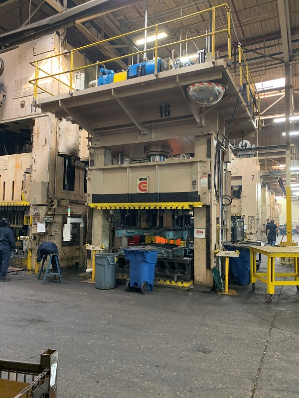 500 Ton Erie Spotting Press