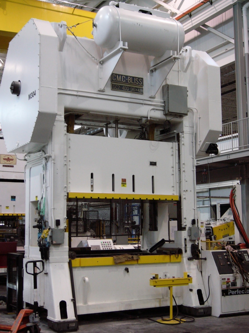 400 To Bliss SC2-400-96-48 Straight Side Press