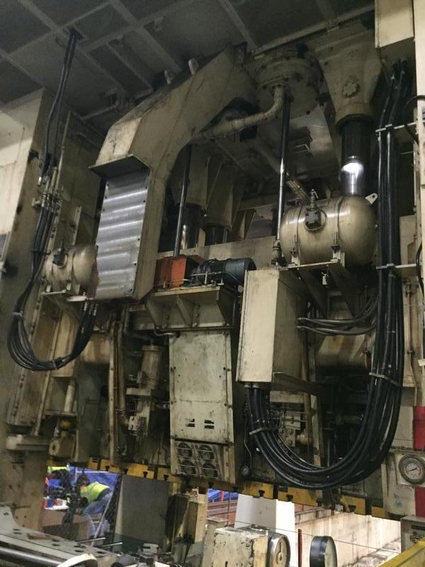 1600 Ton Komatsu E4D1000+600 Double Action Press