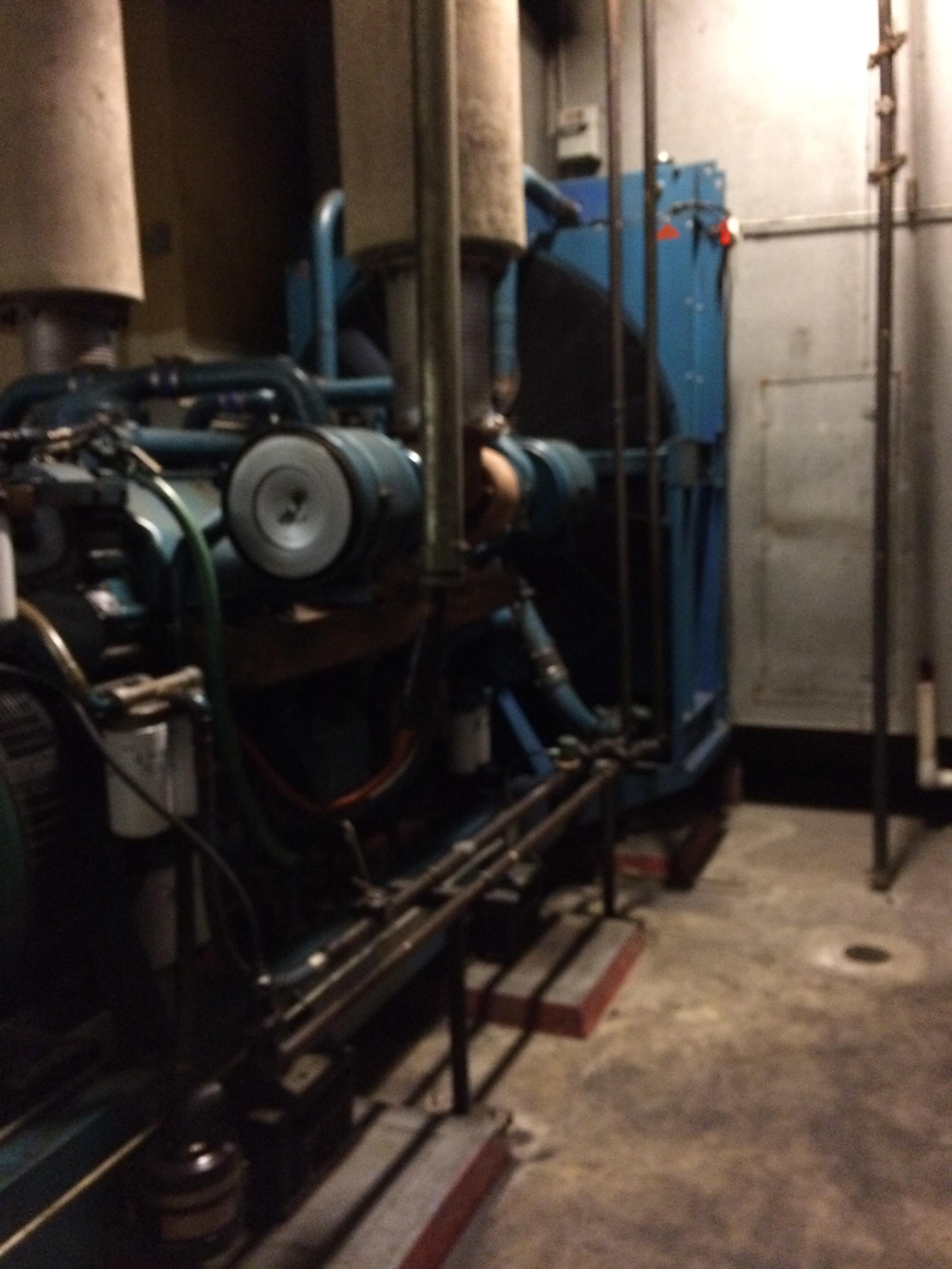 1000 KW Detroit Diesel Generator Model 1000D1T