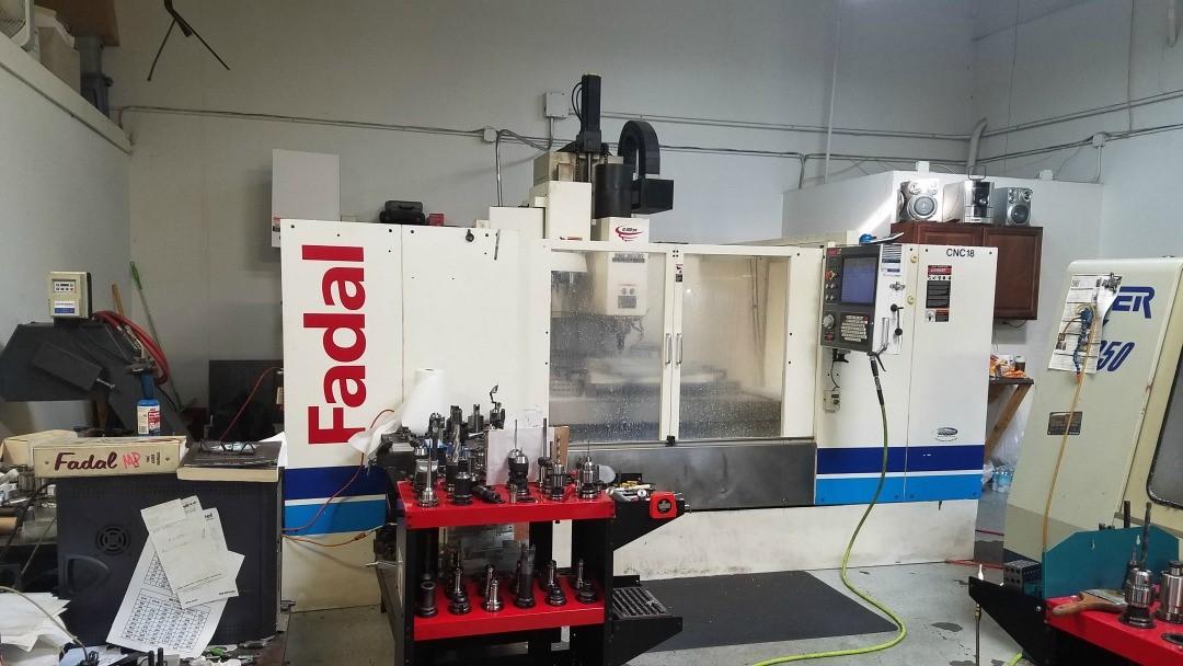 Fadal 6030 HT CNC Vertical Machinng Center