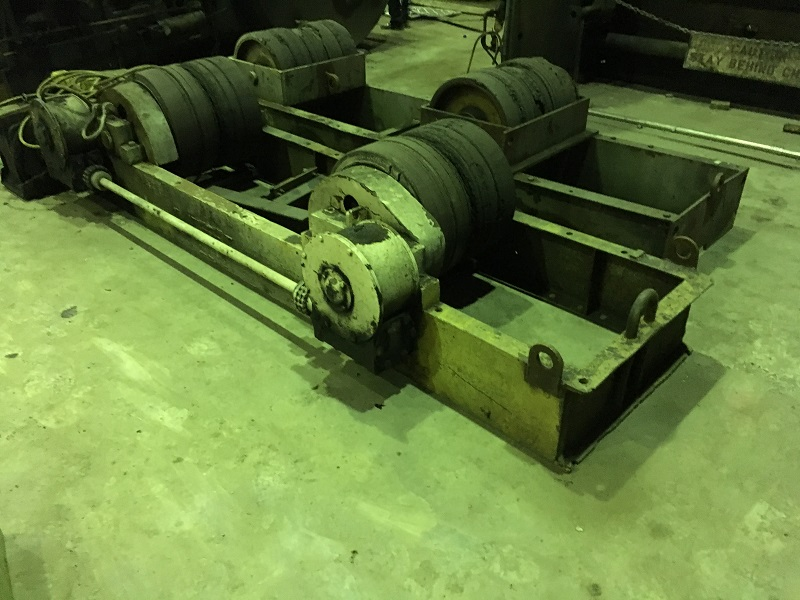 Worthington 150,000 lb. Tank Turning Rolls