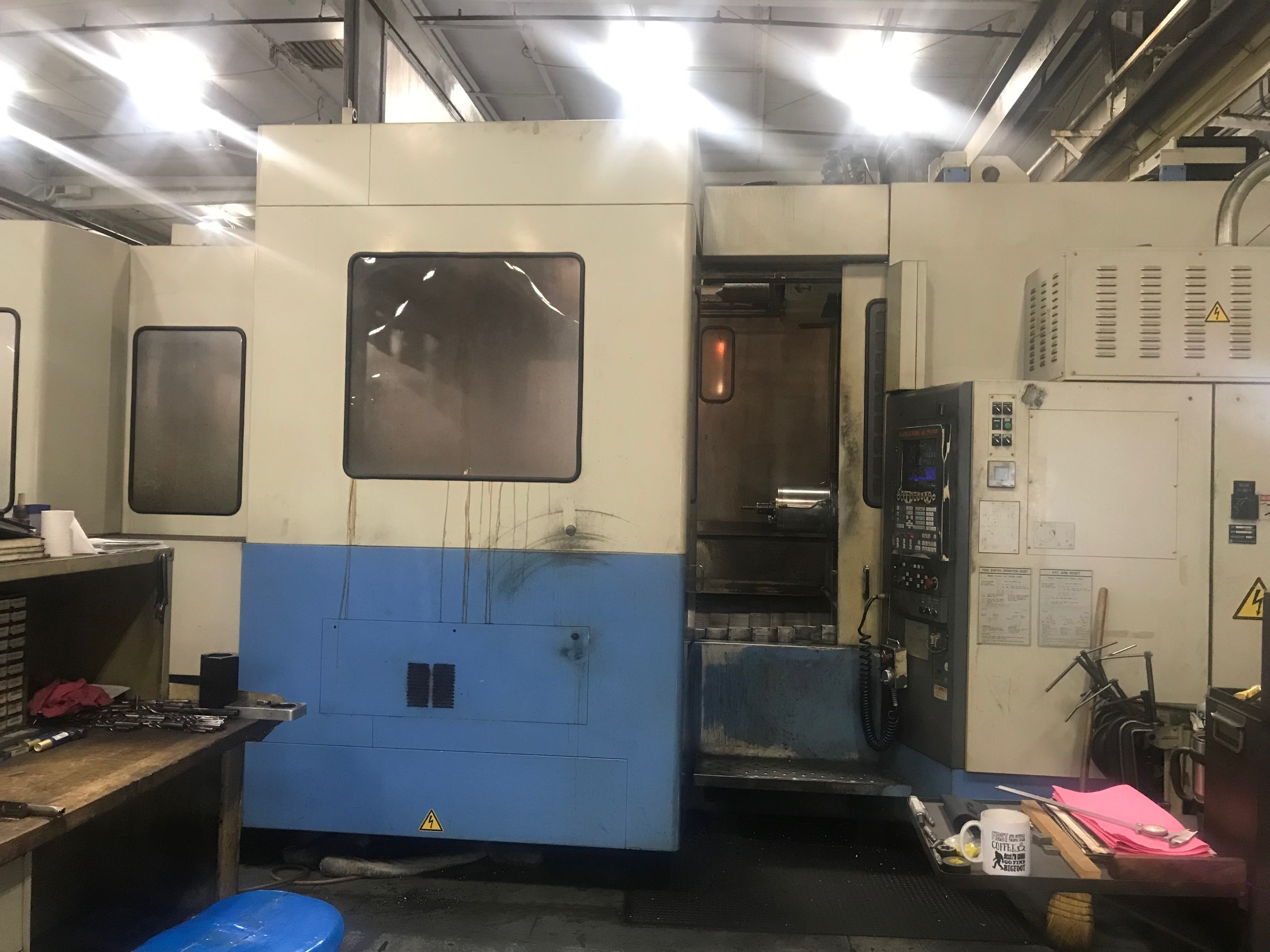 Mazak FH880 Horizontal Machining Center