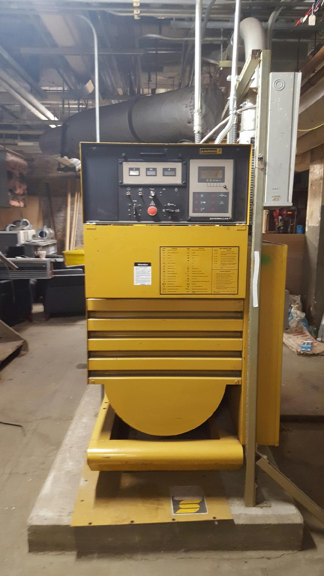 250 KVA Caterpillar Diesel Generator