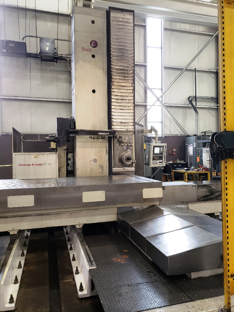 "Giddings & Lewis 6.1"" PT800 CNC Table Type HBM"