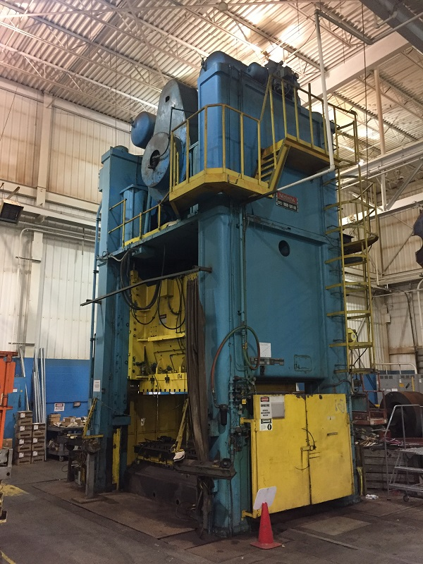 1000-Ton Niagara SE2-1000-108-60 Straight Side Press