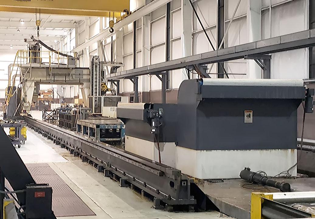 Cincinnati Mag U5-1500, 5 Axis CNC Traveling Bridge Mill