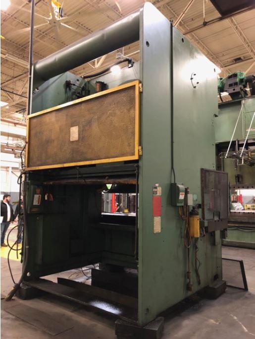 275 Ton Aida Straight Side Double Crank Gap Press