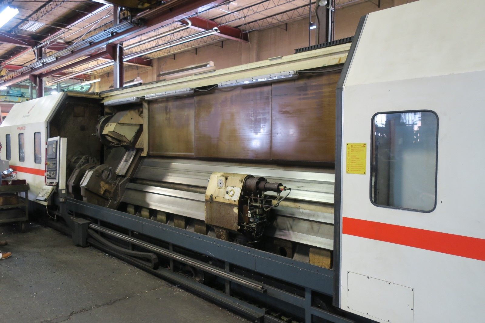 Heyligenstaedt Heynumat 21U/6000 CNC Slant Bed Lathe 28