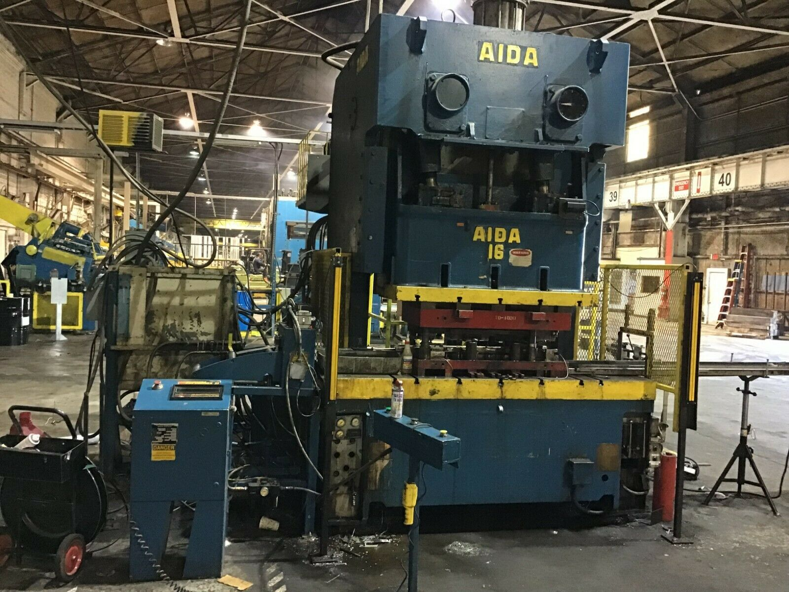 176 Ton Aida C2-176 Gap Frame Press