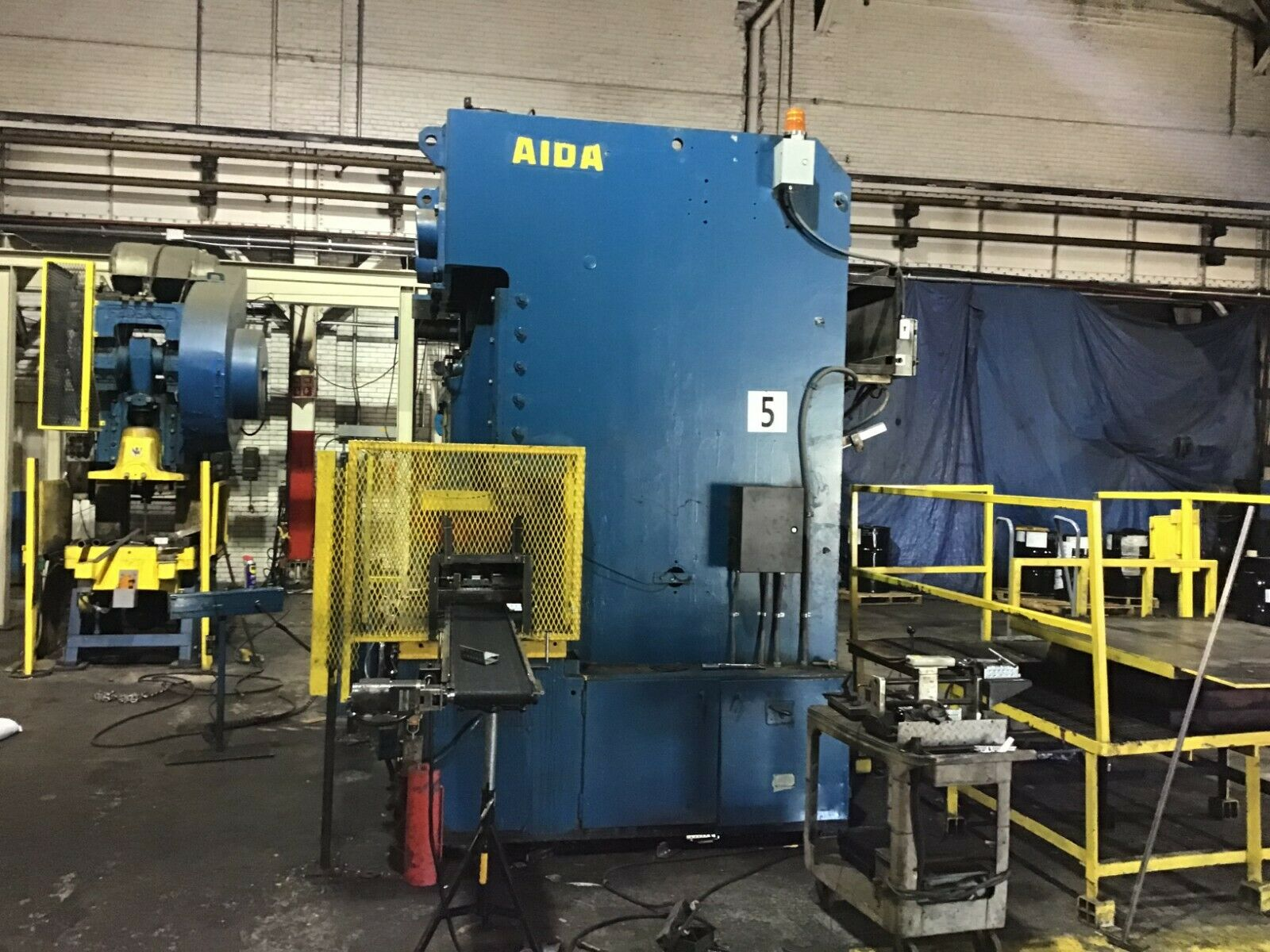 176 Ton Aida C2-176 Gap Frame Press