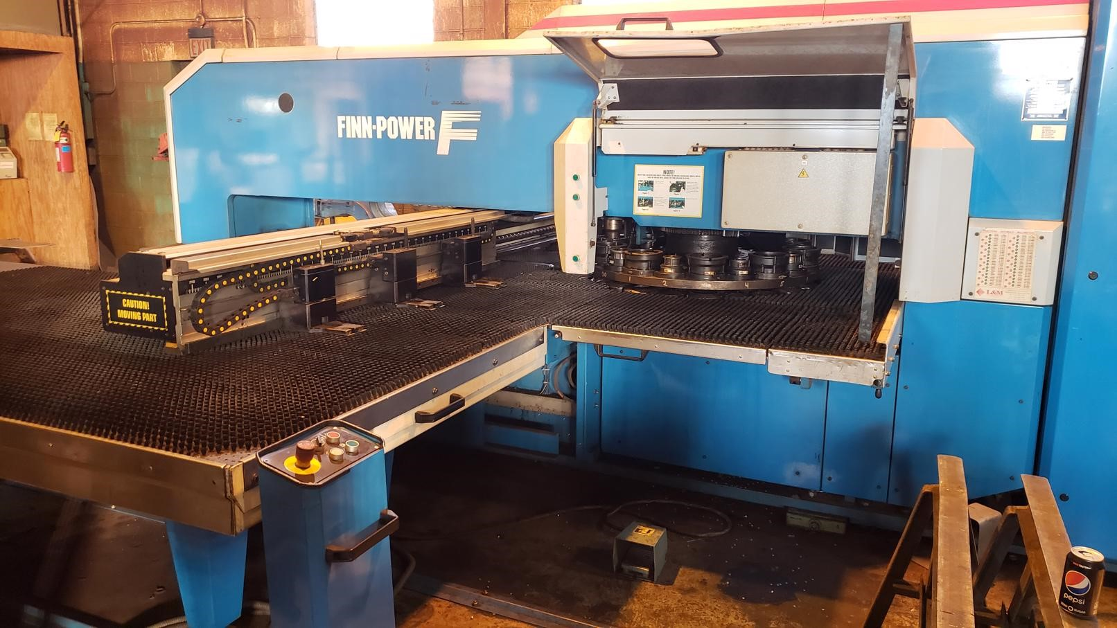 Finn Power FS-25 SB CNC Turret Punch Press
