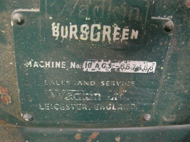 "9.5"" Wadkin Bursgreen Model 10 AGS Table Saw"