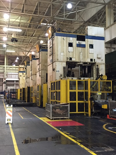 800 Ton Clearing Tandem Press Line S4-800-108-60