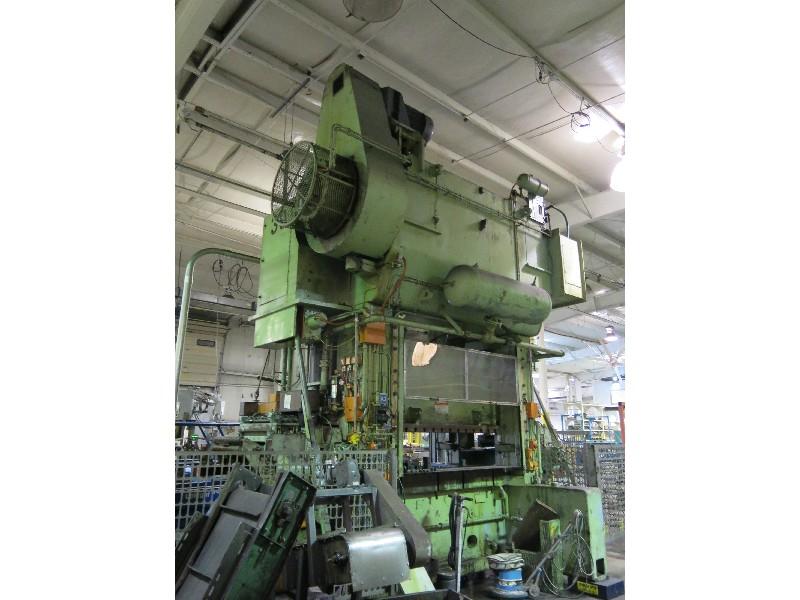 500 Ton Verson SE2-500-84-48 Straight Side Press