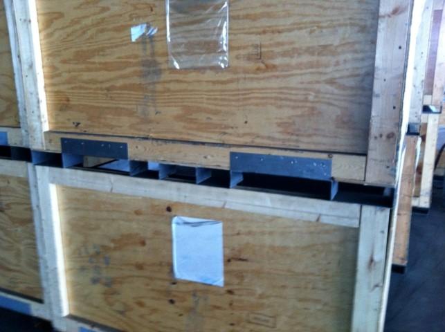 """44"""" x 60"""" x 36"""" Heavy Duty Steel Reinforced Crates"""