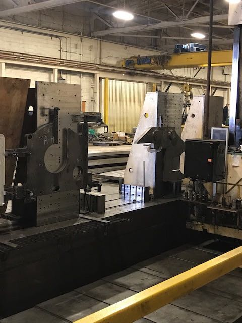 "6"" Wotan CNC Horizontal Boring Mill"