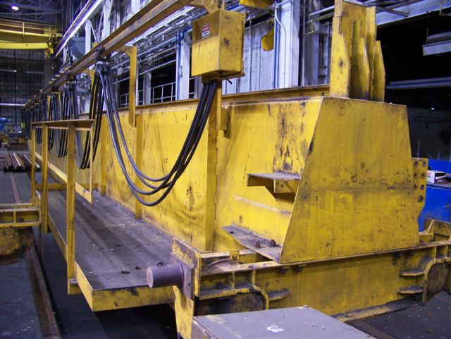 35 Ton Conco Double Girder Overhead Bridge Crane