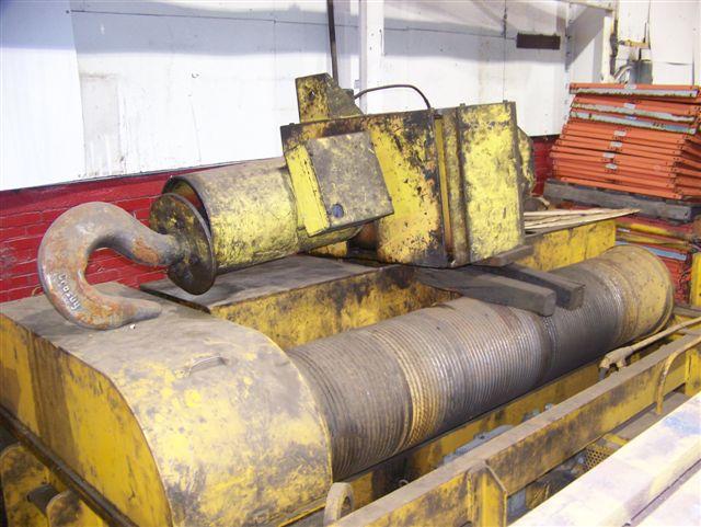 35 Ton Conco Double Girder Overhead Bridge Crane