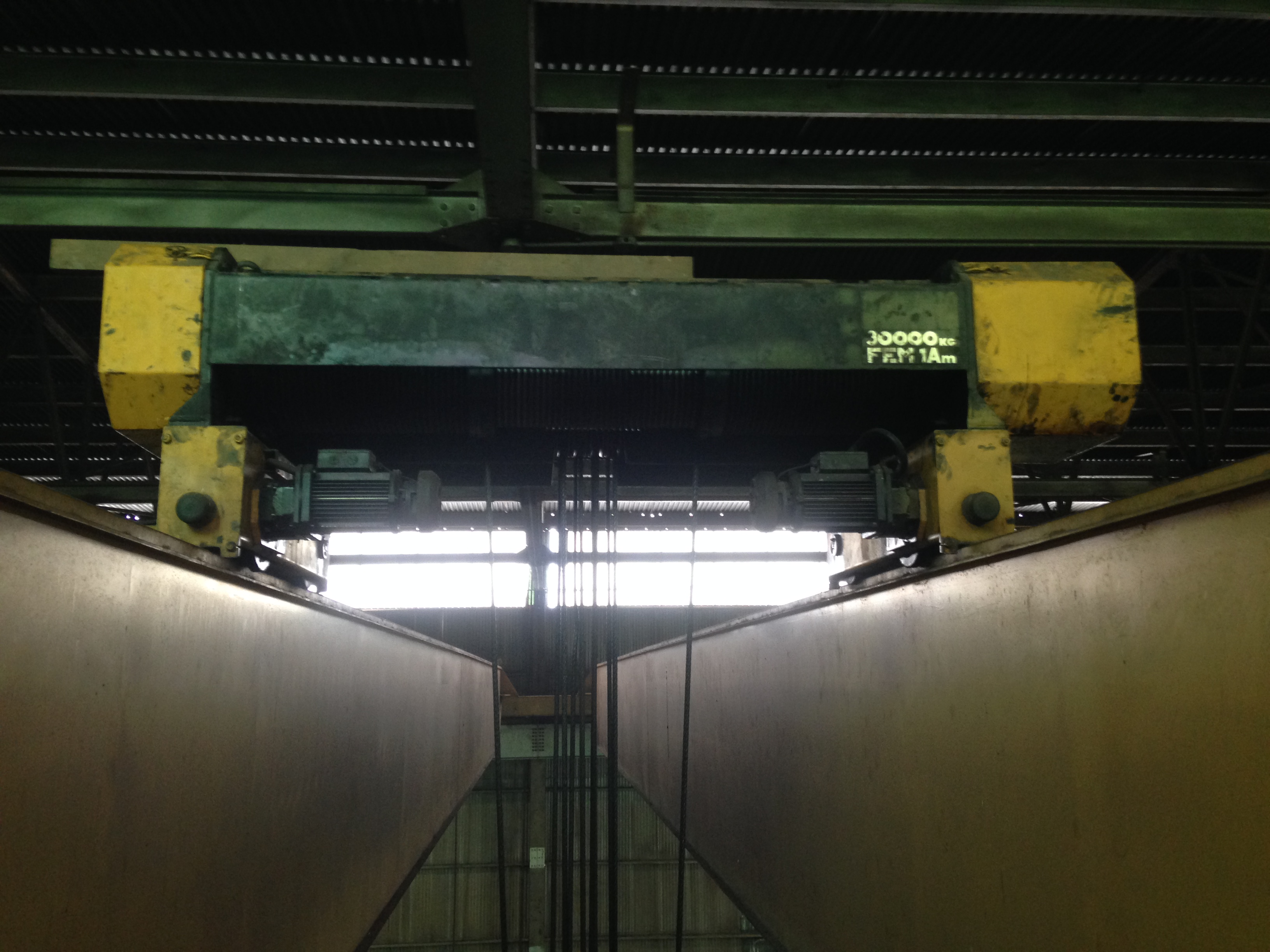 30 Ton Whiting Overhead Bridge Crane