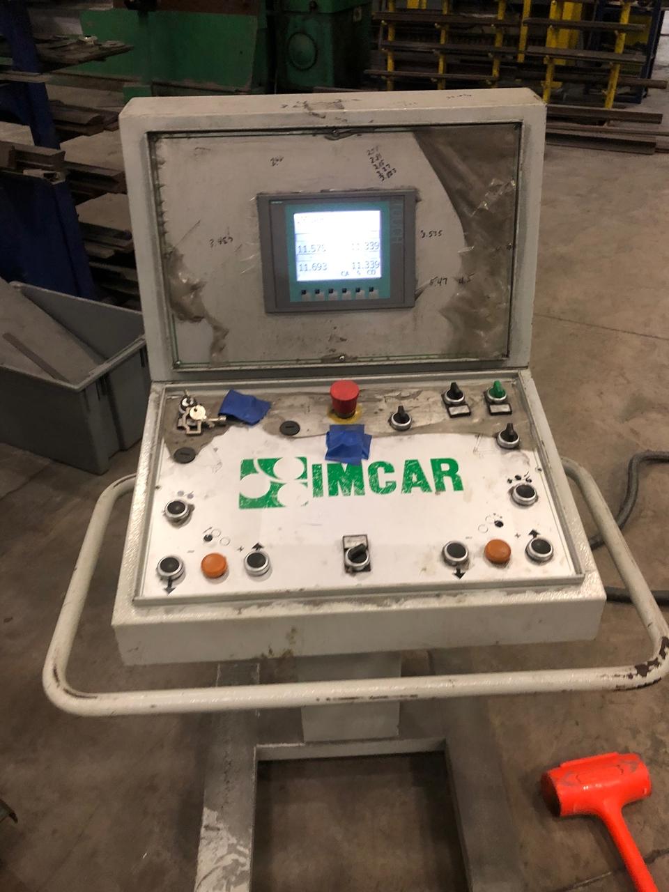 "13' x 3/4"" Imcar Double Initial Pinch Hydraulic Plate"