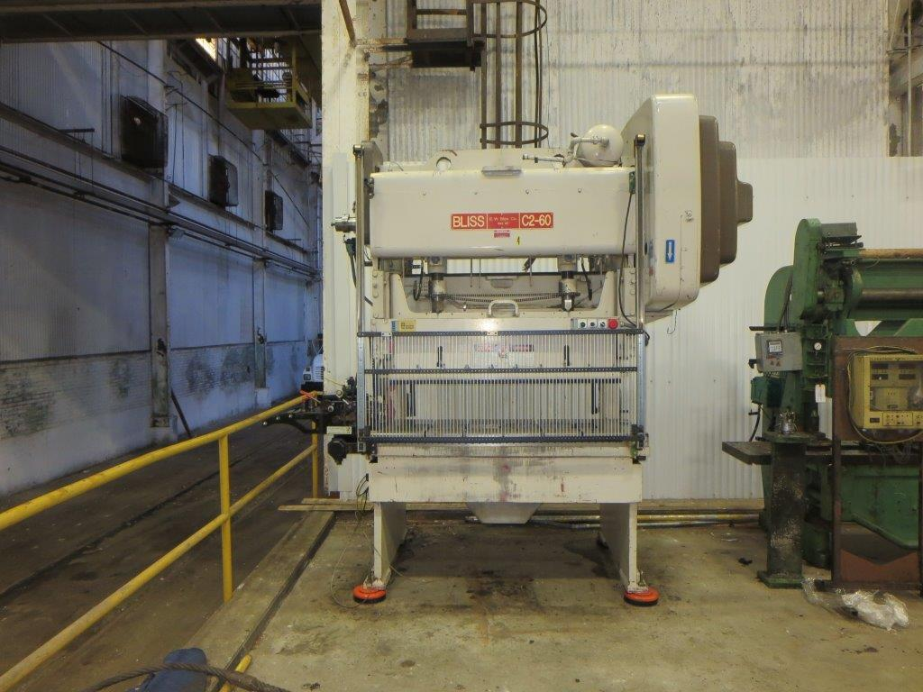60-Ton Bliss C2-60 Gap Frame Press