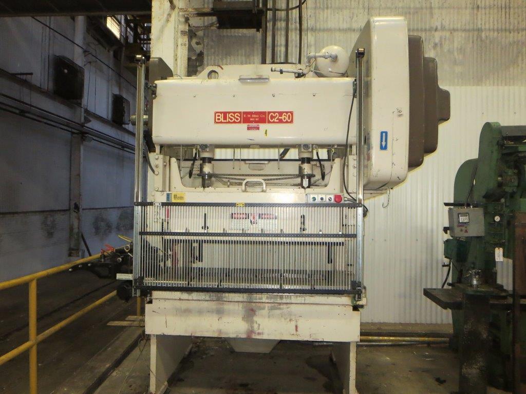 60-Ton Bliss C2-60 Gap Frame Press