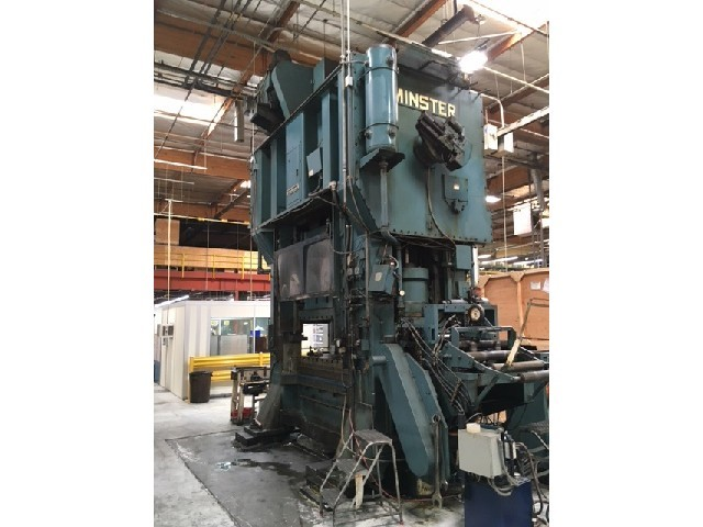 500 Ton Minster E2-500-72-42 Straight Side Ecentric Press