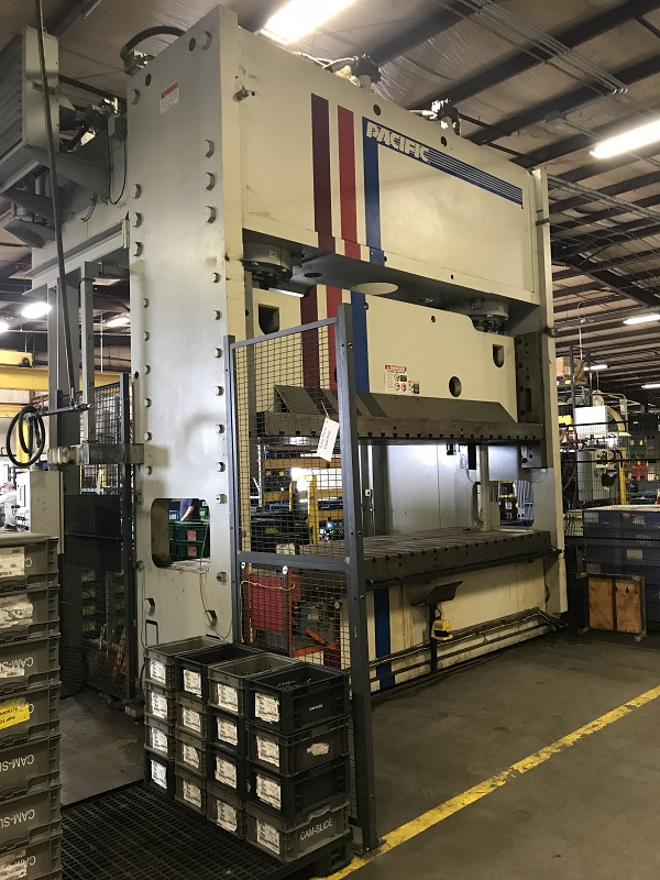 750 Ton Pacific Hydraulic 2 Post Press