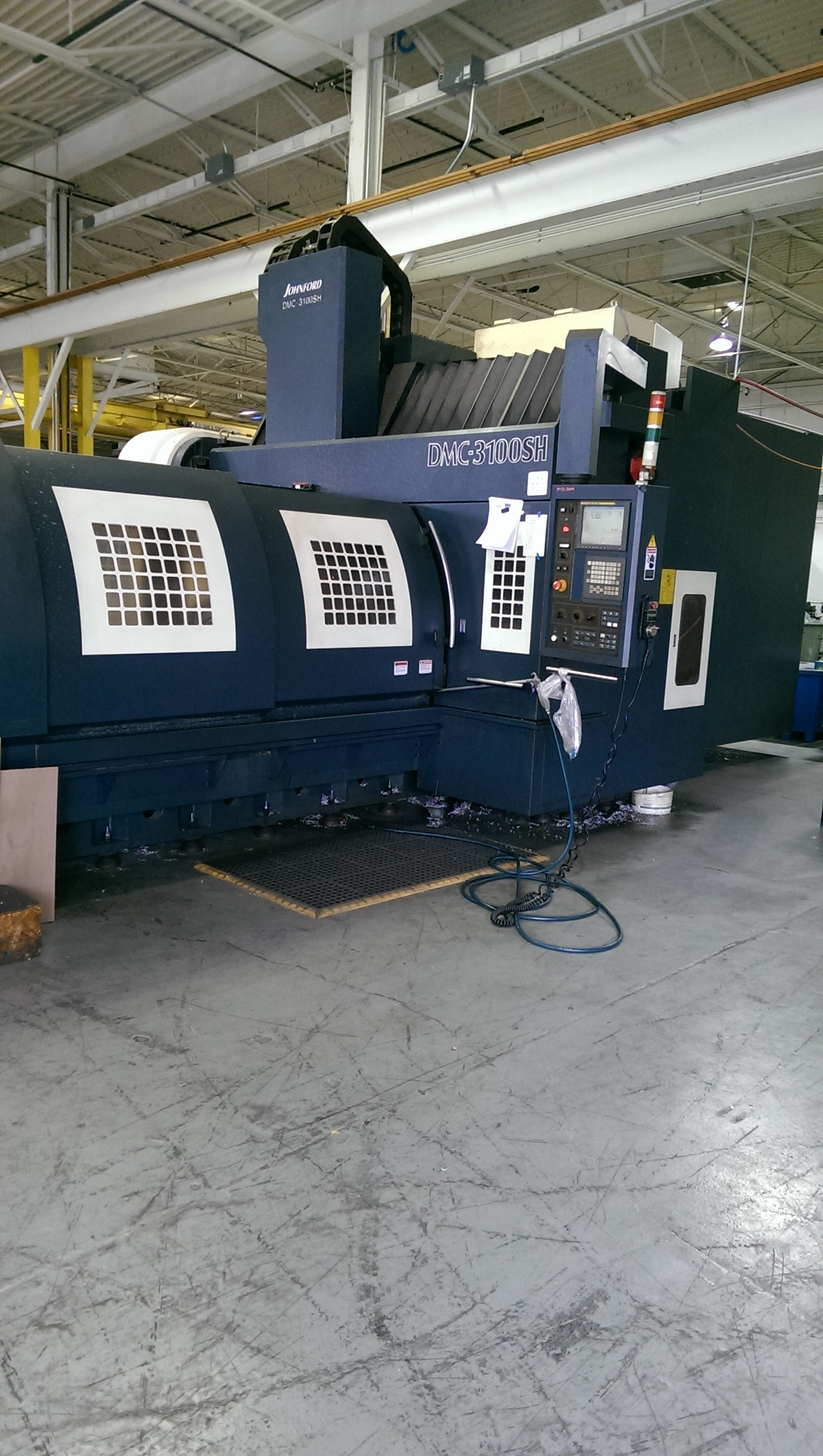 Johnford DMC 3100SH Vertical CNC Bridge Mill