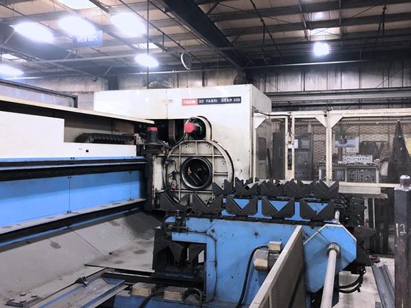 Mazak 3D Fabri Gear 300 CNC Tube Laser