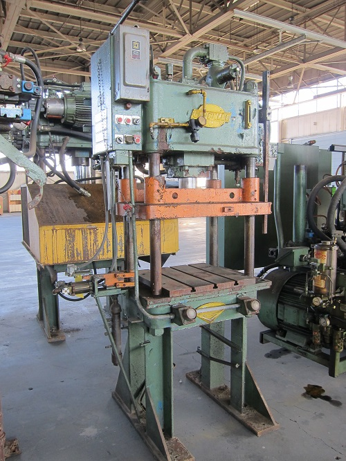 28 Ton Greenlee B&T Hydraulic 4 Post Press