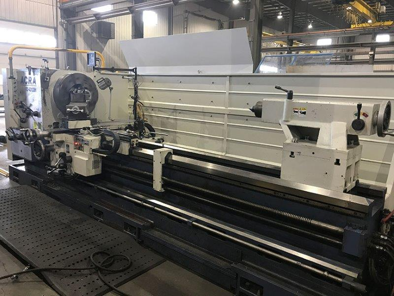 ACRA OIL COUNTRY BIG BORE ENGINE LATHE
