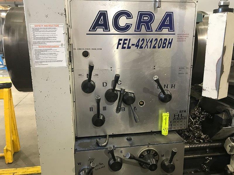 ACRA OIL COUNTRY BIG BORE ENGINE LATHE