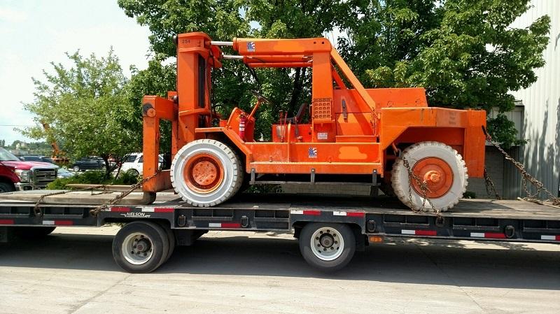 80,000 LB RS-80 Rigger Special Forklift