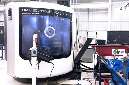 DMG Mori DMU 80 MonoBlock 5 Axis, Plus Machining Center