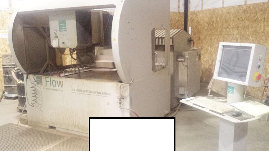 4' x 4' FLow CNC WaterJet